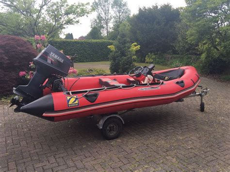 Inflatable Boats Motor Yamaha by Zodiac Futura S Inflatable Boat Dinghy 40hp Outboard Motor