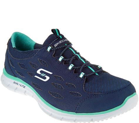 Skechers Mesh Bungee Slipon Sneakers  Twilight  Page 1