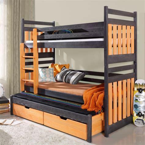 lit enfant superpos 233 sambor avec lit gigogne 3 couchages www petitechambre fr