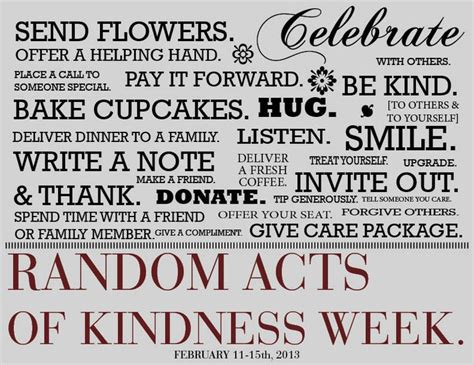 Random Acts Of Kindness Quotes Quotesgram. Massive Signs Of Stroke. Kannada Signs. Lactic Acidosis Signs. Sign Painter Signs Of Stroke. Cardiovascular Signs. Aid Signs. Right Upper Signs. Rooftop Signs Of Stroke