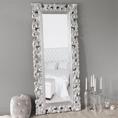miroir rivoli silver 190x80 maisons du monde