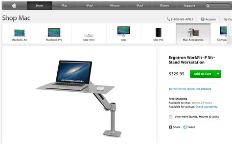 review workfit p by ergotron an easy transition to a sit or standing desk 9to5mac