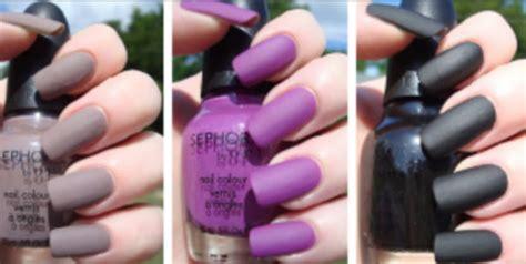 Purple, Matte Nail Polish, Sephora