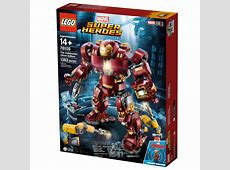 Annunciato il set LEGO Marvel The Hulkbuster Ultron