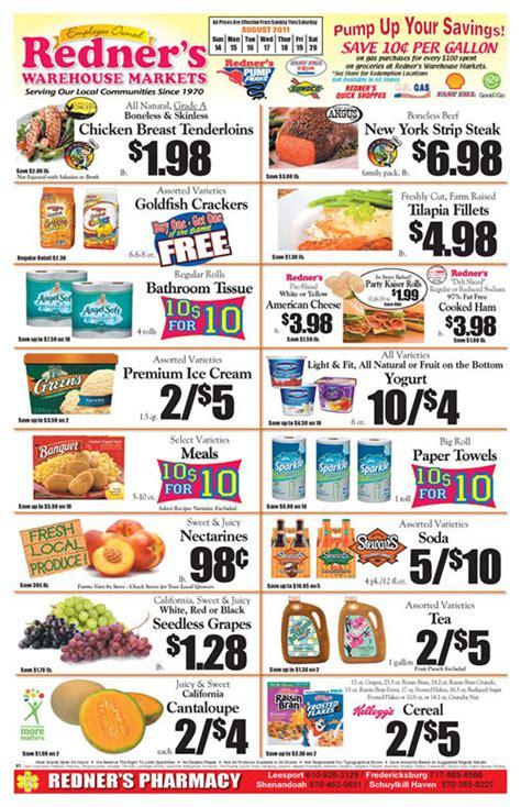 redner s weekly circular grocery store