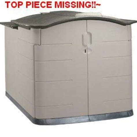 roughneck slide lid shed rubbermaid storage shed accessories lookup beforebuying