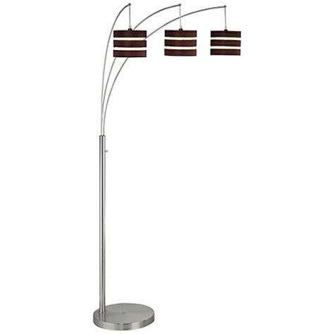 Lite Source Matia Polished Steel 3light Arc Floor Lamp