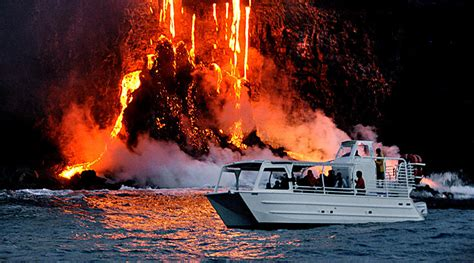Private Lava Boat Tours Hawaii by Peek