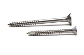 decking screws in stainless steel grade 304 and 316