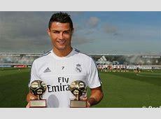 Cristiano Ronaldo won the Best striker in the World 2014