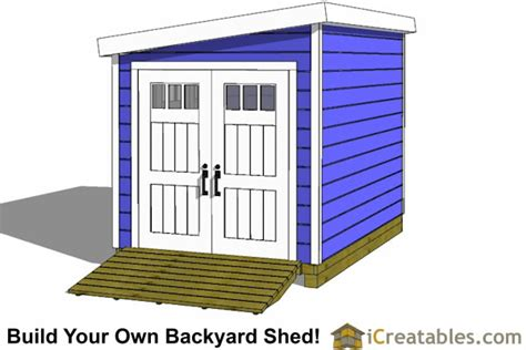 8x12 lean to shed plans storage shed plans icreatables