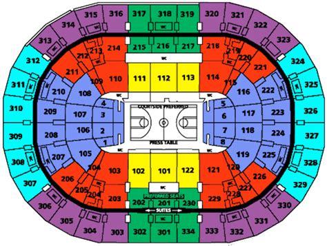Garden Portland Concert Schedule portland garden arena seating chart