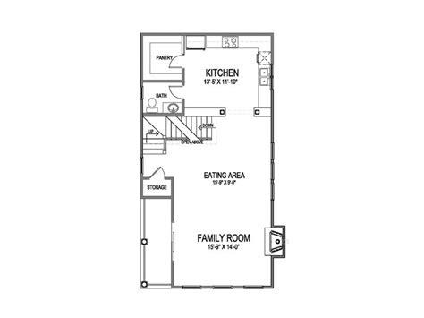 narrow lot house plans narrow home plan 058h