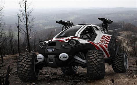 Ford Amatoya Off-road Car In The Mountain Top