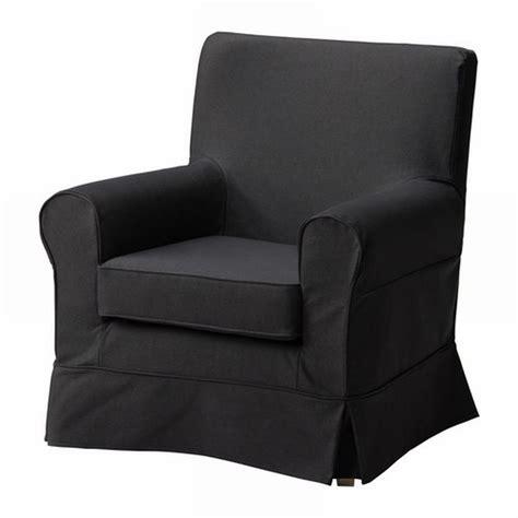 ikea ektorp jennylund armchair slipcover idemo black chair