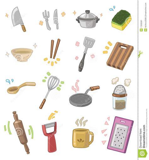 ustensiles de cuisine dessin