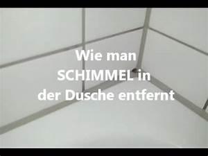 Hausmittel Gegen Schimmel In Der Dusche : schimmel aus der dusche entfernen youtube ~ Markanthonyermac.com Haus und Dekorationen