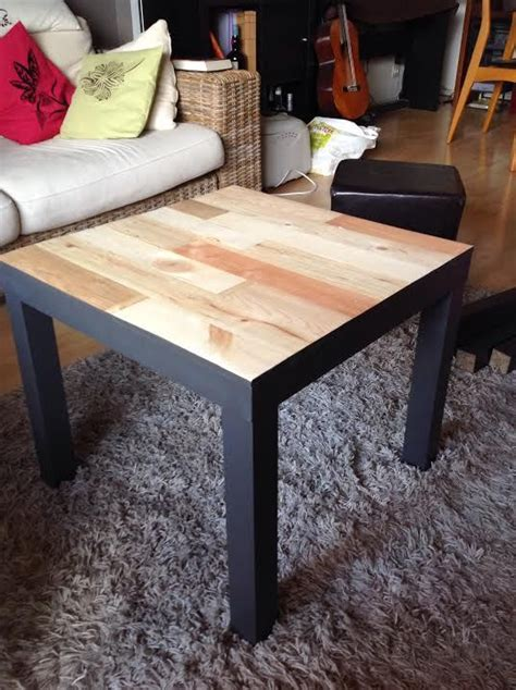 relooking table basse ikea lack avec palettes with tables manger ikea
