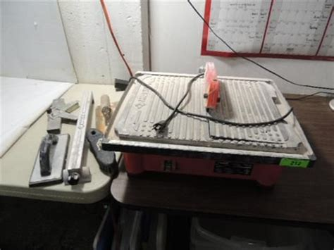 husky model thd750l tile saw guides