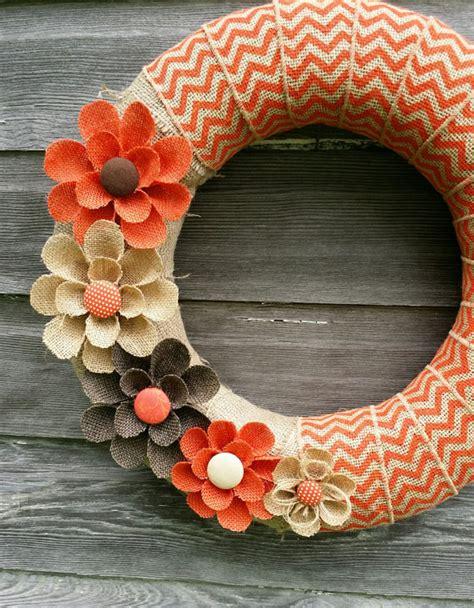 Diy Projects Pretty Diy Fall Wreaths Landeelucom