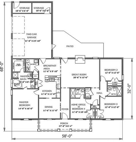 the lancaster 5644 4 bedrooms and 3 5 baths the house designers
