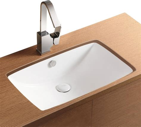 Small Rectangular Undermount Bathroom Sink by Rectangular White Ceramic Undermount Bathroom Sink No