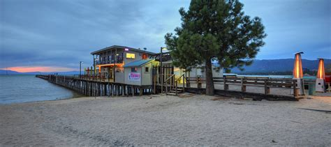 Boathouse On The Lake by South Lake Tahoe Lakefront Restaurant The Beach Retreat