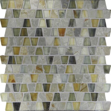 glass mosaic tile slate backsplash westside tile and