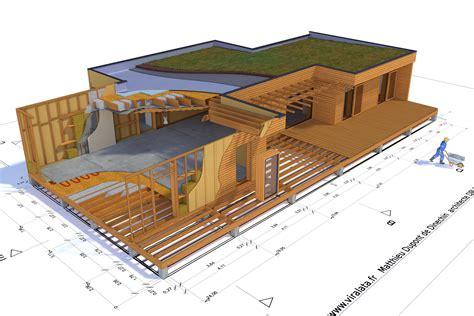 maison 02 ossature bois bottes de paille matthieu dupont de dinechin architecte dplg