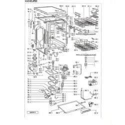 bosch smi5046ff 08 vue 233 clat 233 e et r 233 f 233 rence constructeur pour lave vaisselle