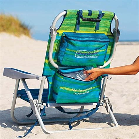 Bahama Folding Backpack Chair by Bahama 2016 Backpack Cooler Chair With Storage Pouch