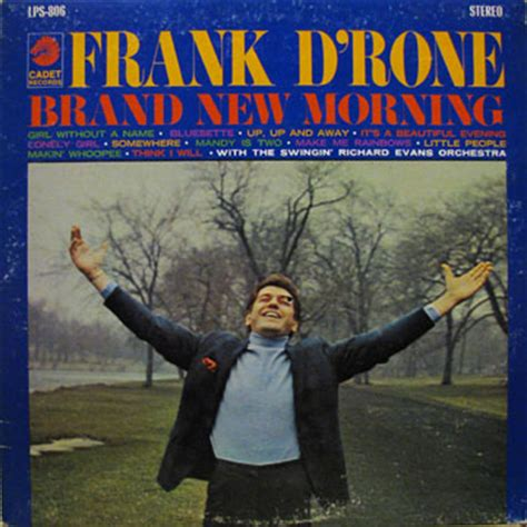 Frank D'rone  Brand New Morning (lp)  Soft Tempo Records