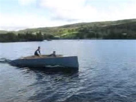 Fast Boat Electric by Fast Electric Boat First Trials Youtube