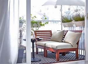 Kleine Wäschespinne Für Balkon : ideen f r schmale kleine balkone und vieles mehr sch ner wohnen ~ Markanthonyermac.com Haus und Dekorationen