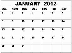 One Month Printable Calendar » Calendar Template 2018