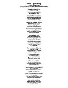 Row Row Row Your Boat Chinese Lyrics by Rock Cycle Song Sung To The Tune Of Row Row Row Your