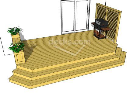 decks free plans