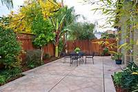 good looking small covered patio design ideas Good Looking Stamped Concrete Cost trend San Francisco ...
