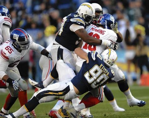 Chargers Rout Giants 37-14