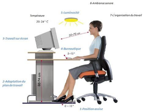 qualidesk l ergonomie globale du poste de travail n est pas que l ergonomie de la position assise