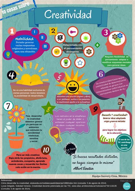 Creatividad Una Infografía  Inevery Crea México