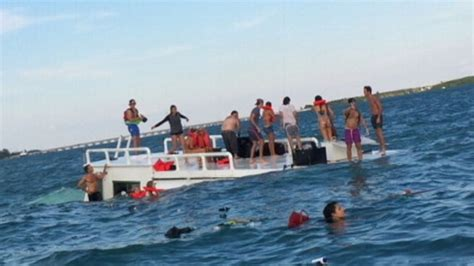 Boat Party Fails by Unlicensed Miami Captain At Helm Of Capsized Party Boat