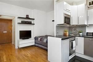 Apartment Einrichten Ideen : 140 bilder einzimmerwohnung einrichten ~ Markanthonyermac.com Haus und Dekorationen