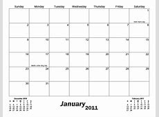 7 Best Images of Printable Blank 8 X 11 Calendar Grid