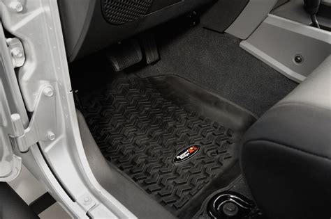 rugged ridge front floor liner pair for 07 13 jeep