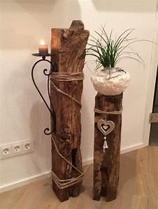 Holz Dekoration Modern : die besten 25 deko holz ideen auf pinterest nat rliche lichtlampe nat rliche stehlampen und ~ Markanthonyermac.com Haus und Dekorationen