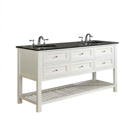 direct vanity sink mission spa 70 in vanity in