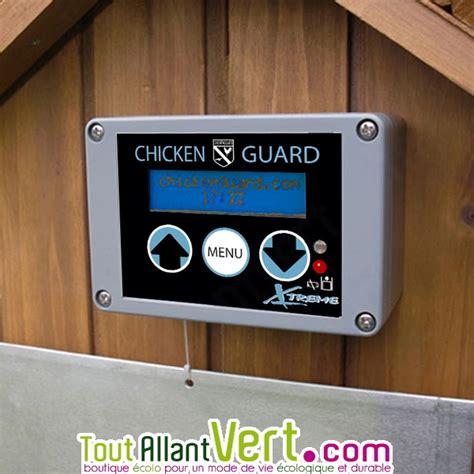 syst 232 me ouverture et fermeture porte automatique poulailler chickenguard achat vente
