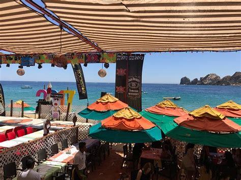 mango deck restaurant club cabo san lucas mexico