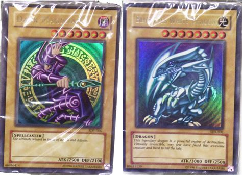 yugioh 2002 unlimited edition yugi kaiba starter deck
